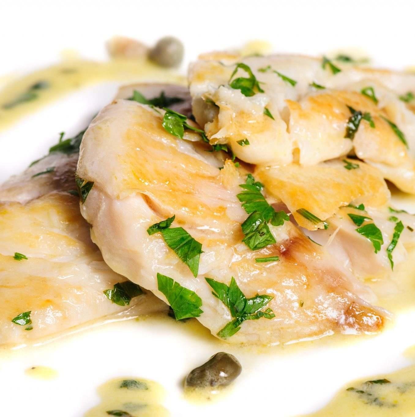 Štika na másle a na víně aneb odlehčené jarní menu