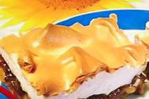 Čtenářka Marie peče: Křehký jablečný koláč se sněhem
