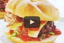 Videorecept: Domácí hamburger